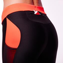 Damesbroek voor trail dames zwart/roze - 87608