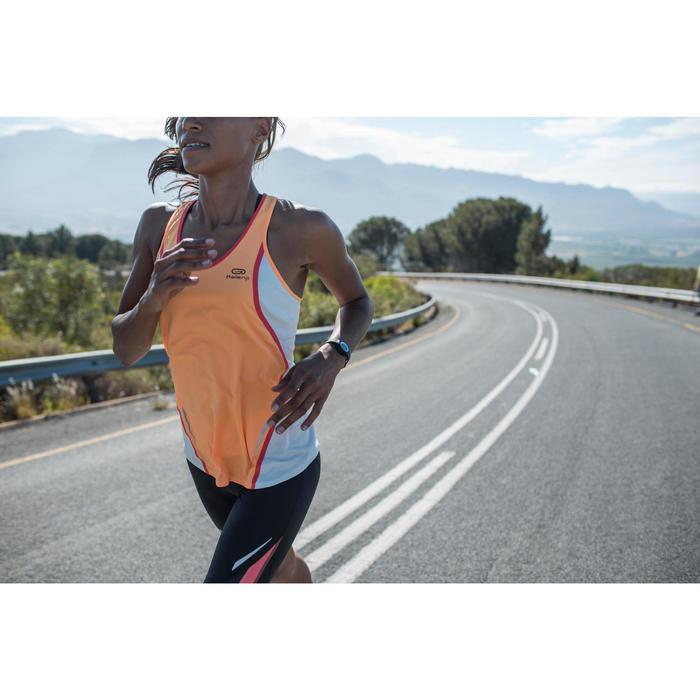 Montre chronomètre de course à pied femme W500 S VERT PASTEL