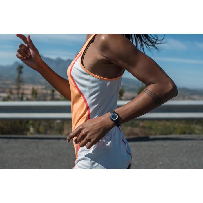 Montre chronomètre de course à pied femme W500 S NOIRE - 876461