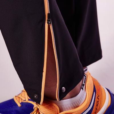 pantalon coupe vent running femme kalenji kiprun race noir. Black Bedroom Furniture Sets. Home Design Ideas