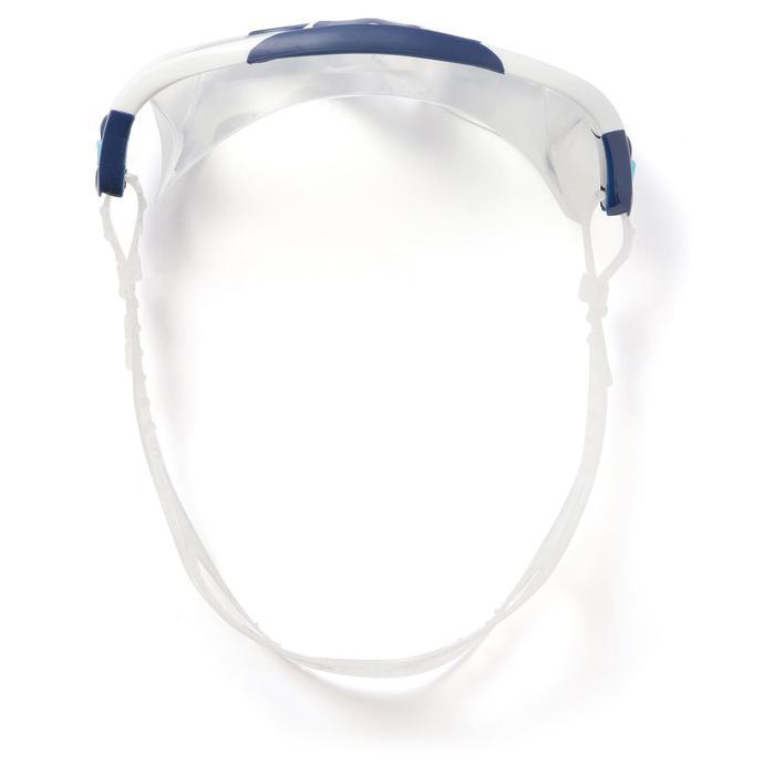 Masque de natation RIFT clair taille L bleu blanc
