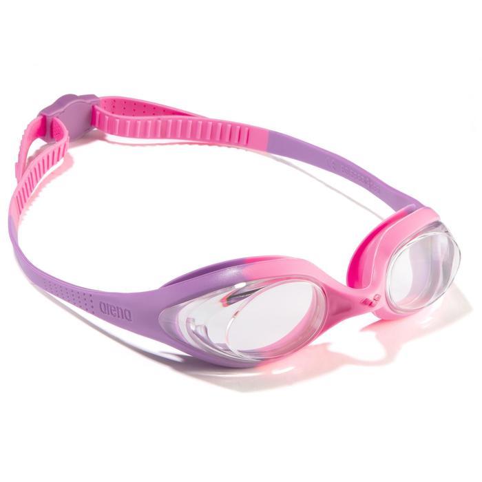 Zwembril Spider kinderen roze