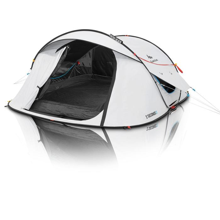 Pop up tent 2 Seconds Fresh&Black - 3 personen