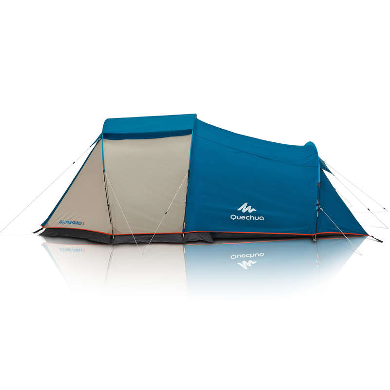 SPARE PARTS FAMILY/BASE CAMP TENTS Camping - Arpenaz Family 4 Flysheet QUECHUA - Tent Spares and Repair