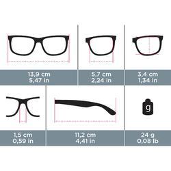 Sonnenbrille Wandern MH510Kategorie 3 Erwachsene schwarz
