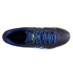 Veldhockeyschoenen Gel Lethal voor kinderen zwart/blauw - 878839