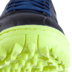 Veldhockeyschoenen Gel Lethal voor kinderen zwart/blauw - 878841