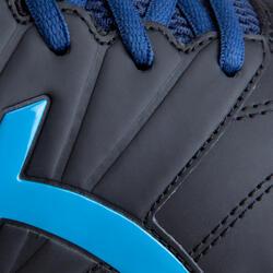 Veldhockeyschoenen Gel Lethal voor kinderen zwart/blauw - 878843