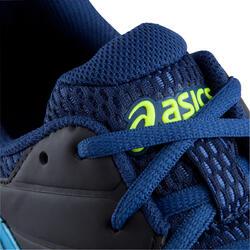 Veldhockeyschoenen Gel Lethal voor kinderen zwart/blauw - 878844