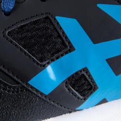 Veldhockeyschoenen Gel Lethal voor kinderen zwart/blauw - 878845