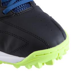 Veldhockeyschoenen Gel Lethal voor kinderen zwart/blauw - 878846