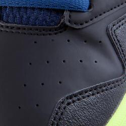 Veldhockeyschoenen Gel Lethal voor kinderen zwart/blauw - 878847