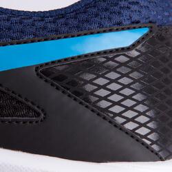 Veldhockeyschoenen Gel Lethal voor kinderen zwart/blauw - 878849