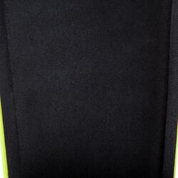 Scheenbeschermers Ghost Club voor volwassenen zwart/geel - 878921