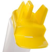 Botella higiénica 1 litro blanco amarillo