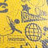 Basketbal NBA Grafitti zwart/geel Maat 7 - 878937