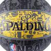Basketbal NBA Grafitti zwart/geel Maat 7 - 878939