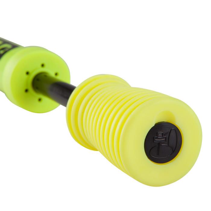 Pompe double action jaune noir
