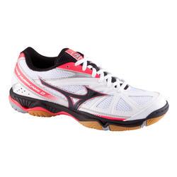 Volleybalschoenen Wave Hurricane 2 voor dames wit en roze - 879114