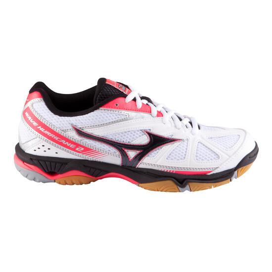 Volleybalschoenen Wave Hurricane 2 voor dames wit en roze - 879115