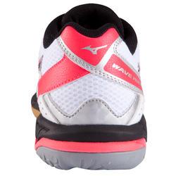 Volleybalschoenen Wave Hurricane 2 voor dames wit en roze - 879118
