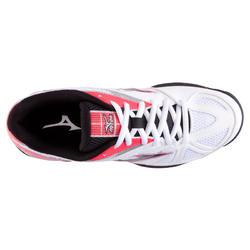 Volleybalschoenen Wave Hurricane 2 voor dames wit en roze - 879119