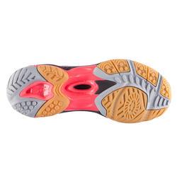 Volleybalschoenen Wave Hurricane 2 voor dames wit en roze - 879120