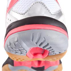 Volleybalschoenen Wave Hurricane 2 voor dames wit en roze - 879122