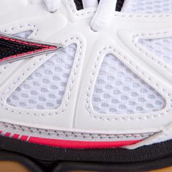Volleybalschoenen Wave Hurricane 2 voor dames wit en roze - 879123