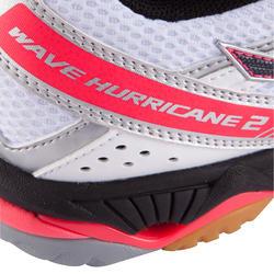 Volleybalschoenen Wave Hurricane 2 voor dames wit en roze - 879125