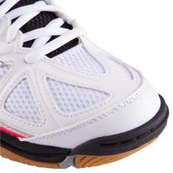 Volleybalschoenen Wave Hurricane 2 voor dames wit en roze - 879127
