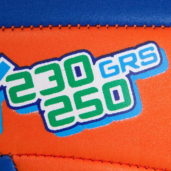 Ballon de volley-ball Wizzy 260-280g blanc et bleu à partir de 15 ans - 879157