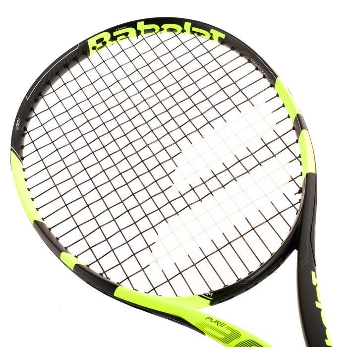 Tennisracket volwassenen Babolat Pure Aero geel zwart