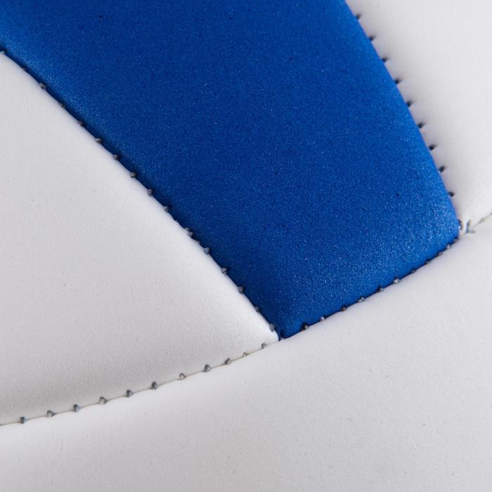 Ballon de volley-ball Wizzy 260-280g blanc et bleu à partir de 15 ans - 879178
