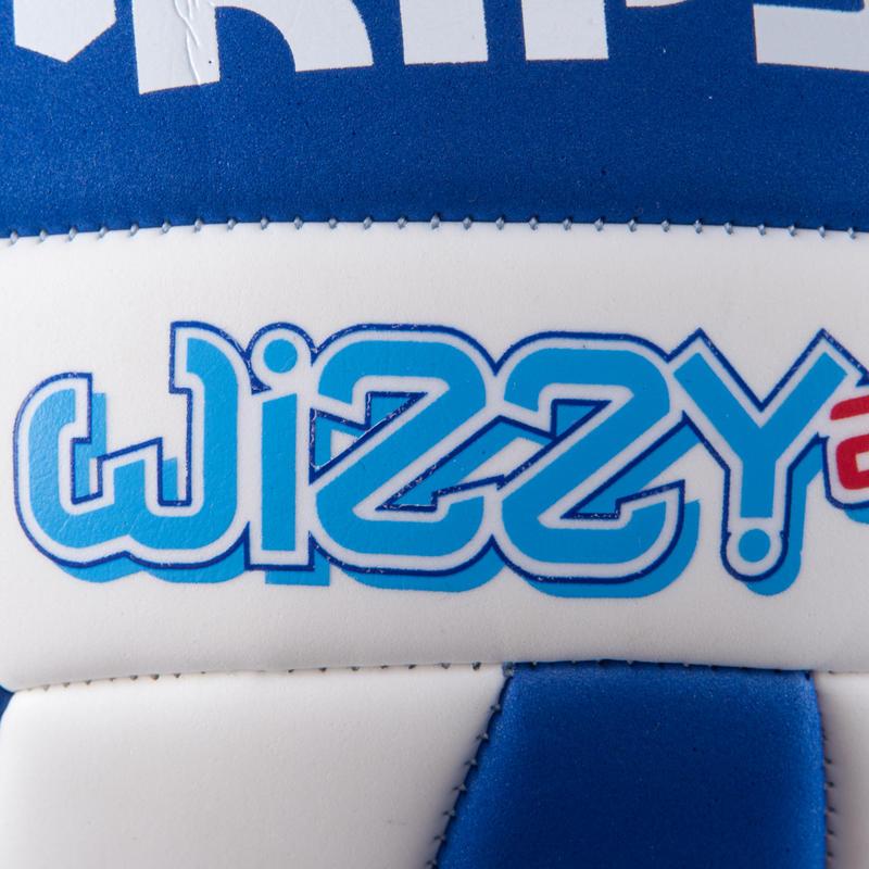 Quả bóng chuyền Wizzy cho trẻ 15 tuổi - Trắng/xanh