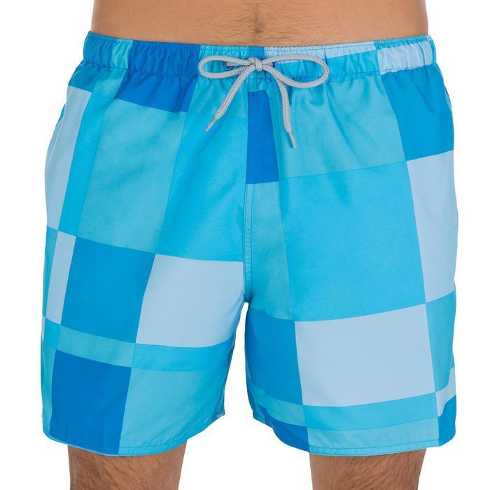 Hendaia men's short swimming shorts - Cube green - 879298