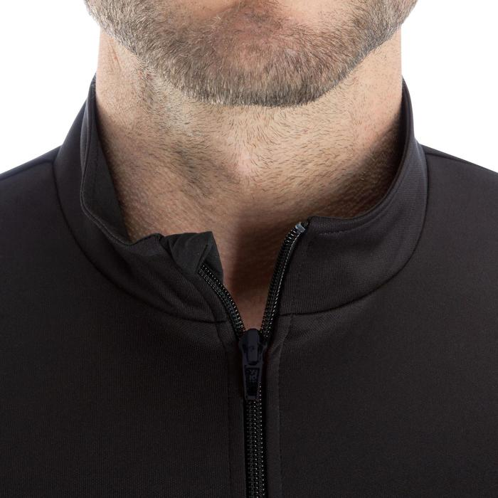Veste d'entraînement de football adulte T100 noire - 879462