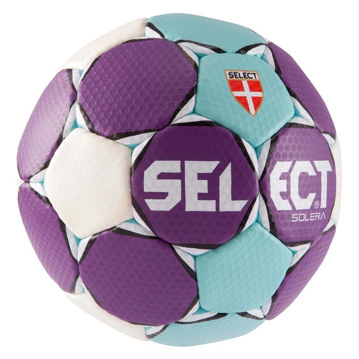 Ballon de handball Solera taille 2 violet bleu clair blanc - 879580