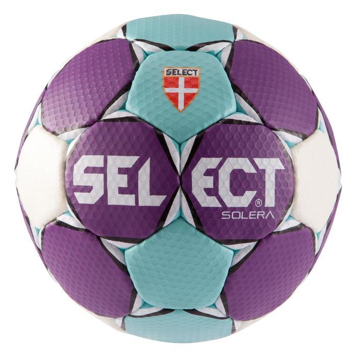 Ballon de handball Solera taille 2 violet bleu clair blanc - 879581