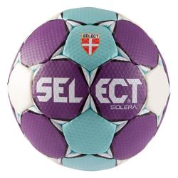 Handbal Solera maat 2 paars lichtblauw wit