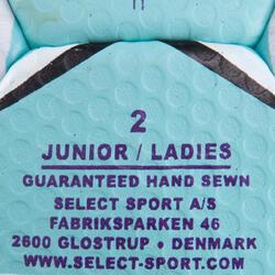 Handbal Solera maat 2 paars lichtblauw wit - 879585