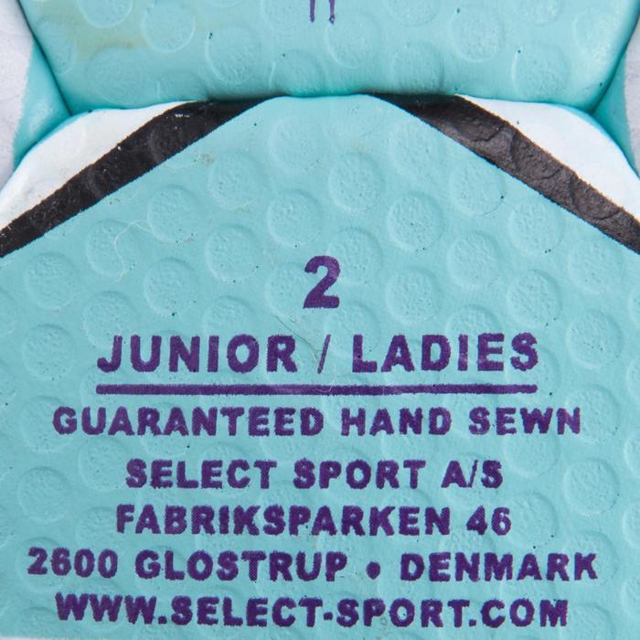 Ballon de handball Solera taille 2 violet bleu clair blanc - 879585