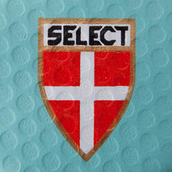Handbal Solera maat 2 paars lichtblauw wit - 879587