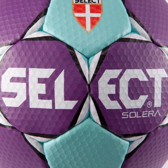 Ballon de handball Solera taille 2 violet bleu clair blanc - 879588