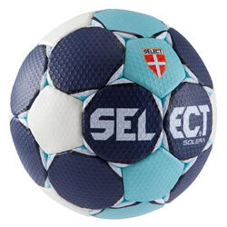 Handbal Solera maat 3 donkerblauw lichtblauw wit - 879589