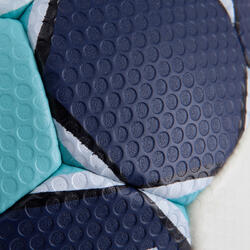 Handbal Solera maat 3 donkerblauw lichtblauw wit - 879591