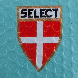 Handbal Solera maat 3 donkerblauw lichtblauw wit - 879594