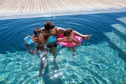 """Blauwe zwembandjes met twee luchtkamers Soft met """"Piraat"""", 15 tot 30 kg - 879631"""