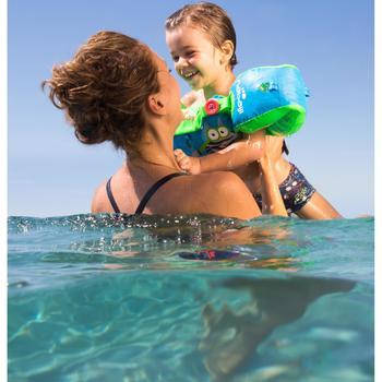"""Bañador tipo boxer para bebé niño azul oscuro estampado """"FISH"""""""