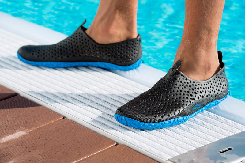Escarpines aquagym aquafitness AQUADOTS negro azul